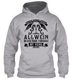 ALLWEIN - My Veins Name Shirts #Allwein