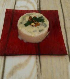 tortino di risotto gorgonzola e noci