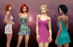 Soft Dreams sleepwear at My Stuff via Sims 4 Updates