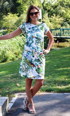 MinnieMie: Selfish sewing: A tropical Candy Dress