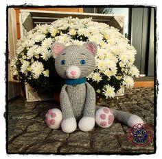 Cute crochet Cat amigurumi toy by Zwooczki on Etsy