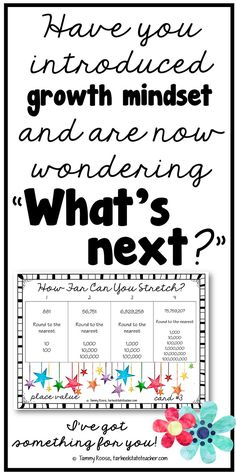 """Growth mindset in the math classroom; upper elementary 4th 5th grade growth mindset ideas; Have you introduced growth mindset this year and now you're left wondering """"what's next?"""" I know you want to make sure that your instruction mirrors what you taught them about mindset, so I've got some ideas for math instruction for you! {math differentiation in math 3rd 4th 5th, spiral math, task cards, place value, fractions, geometry, measurement, center/station activities}"""