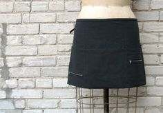 Happy Server! Two-Zip Server Apron $25