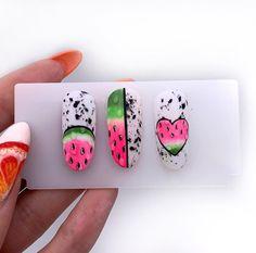 Nail Art Designs, Fruit Nail Designs, Manicure, Gel Nails, Acrylic Nails, Bling Nails, Swag Nails, Cute Nails, Pretty Nails