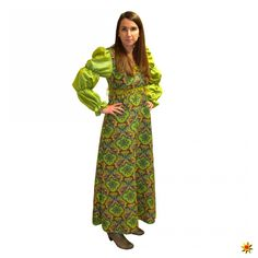 Kleid grun fasching