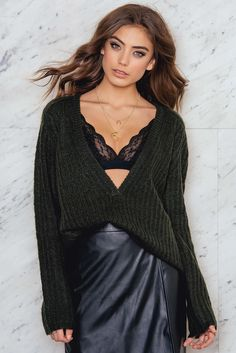 The perfect knitted one! This Luna Sweater by Twist