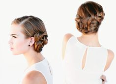 Wedding-French-braid-bun