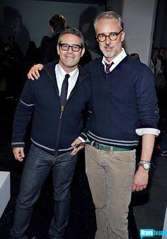 Andy Cohen & Michael Bastian