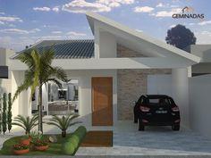 Simple House Design, Dream Home Design, Modern House Design, Layouts Casa, House Layouts, Building Design, Building A House, Narrow House Designs, Small Modern House Plans