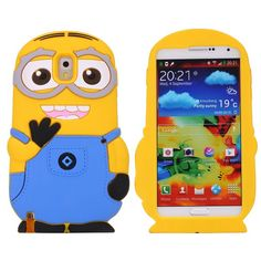 Samsung Note 3 Despicable Me Minion Silicone cover, hoesje, case