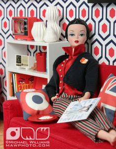 The Fashion Doll Chronicles: Welcome to the Haute Dollhouse - A homage to Jonathan Adler by Michael Williams
