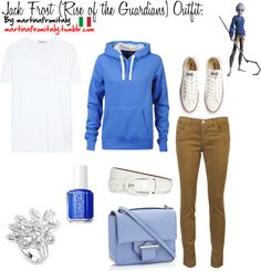 """""""Jack Frost (Rise of the Guardians) Outfit:"""" by martinafromitaly ❤ liked on Polyvore"""