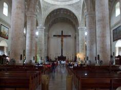 Cathedral in Merida, Yucatan Mexico