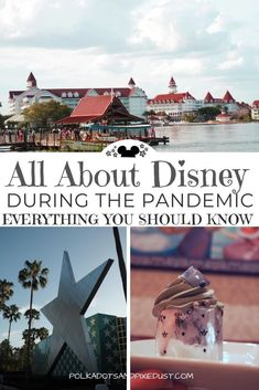 Disney during the pandemic has been a whirlwind of changes, rules and many things that can affect your next Disney Vacation. Check out all our posts on the new rules for Disney during coronavirus and what you need to know. #disneycovid #disney2020 #polkadotpixies Disney World Vacation Planning, Walt Disney World Vacations, Disney Planning, Disney Trips, Vacation Ideas, Disney Vacation Surprise, Vacation Planner, Disneyland Trip, Disney Travel
