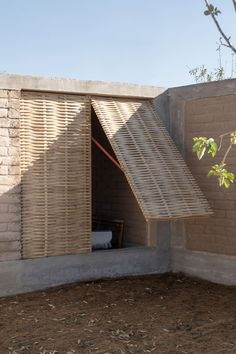 Zeller & Moye unveils modular social housing Casa Hilo for Mexico Concrete Staircase, Low Cost Housing, Bamboo Architecture, Bamboo House, Rural House, Storey Homes, Social Housing, Home Design, Home Remodeling
