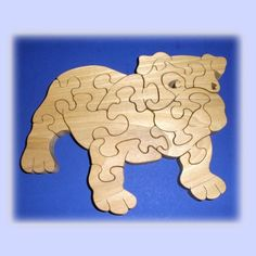 Hey, I found this really awesome Etsy listing at https://www.etsy.com/listing/63816590/bull-dog-a-fun-wood-puzzle-game-new-toy