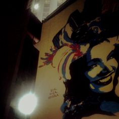 Carmen Miranda #streetart #grafitti (Foto de @metheoro http://instagr.am/p/KZBbPmPl4B/)