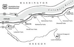 Image result for columbia river gorge waterfalls