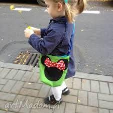 Znalezione obrazy dla zapytania torebki szyta ręcznie dla dzieci myszka minie
