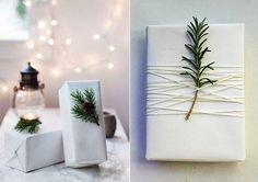 weihnachtsgeschenke schön verpacken