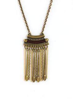 Goldene Quaste Halskette Vintage Halskette, böhmische Halskette, Goldkette Halskette, lange Kette, Boho Kette, Fringe Halskette LN90