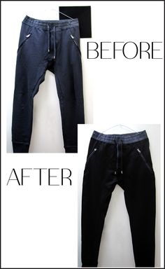 Tired of all blue but love the fit, the feel? Make a change with @dyeitblack.