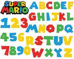 Super Mario Bros, Bolo Super Mario, Mario Bros Cake, Super Mario Birthday, Mario Birthday Party, 5th Birthday Party Ideas, Super Mario Party, Hama Beads Minecraft, Perler Beads