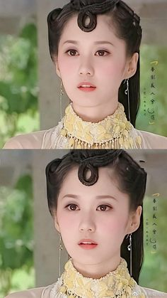 Jang Nara, Pearl Necklace, Hoop Earrings, Pearls, Jewelry, Fashion, String Of Pearls, Moda, Jewlery