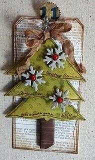 O Christmas Tree Tag.
