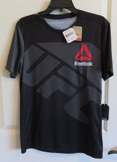 NWT Men's Authentic Reebok UFC Combat Jersey #Reebok