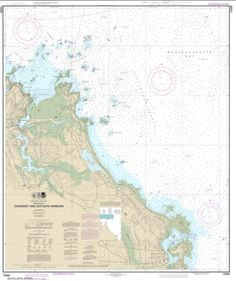 NOAA Chart Cohasset and Scituate Harbors 11th Edition 13269