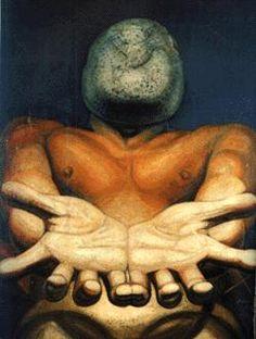 """""""Nuestra imagen actual"""", David Alfaro Siqueiros. 1942"""