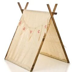 Burlap Children's Playroom Tent - modern - kids products - by Rosenberry Rooms Cheap Patio Sets, Patio Set Up, Boy Room, Kids Room, Childrens Teepee, Safari Nursery, Modern Kids, Play Houses, Kids Playing