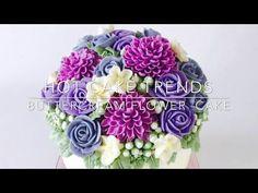 Buttercream Succulent Cake Decorating Tutorials - CAKE STYLE - YouTube