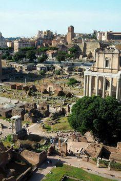 Rom City Guide: Das Forum Romanum galt einst als Mittelpunkt des gesellschaftlichen Lebens in Rom. Hier wurde große Politik gemacht, das Imperium erobert und befanden sich die ältesten Tempel der Stadt. #italy #italien #rome #rom (scheduled via http://www.tailwindapp.com?utm_source=pinterest&utm_medium=twpin&utm_content=post160004407&utm_campaign=scheduler_attribution)