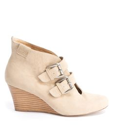 Take a look at this Bone Lyndon Wedge Bootie - Women by EMU Australia on #zulily today!