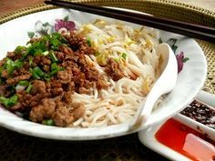 We've become addicted to Sichuan noodles. I make extra meat topping and buy the fresh noodles from a coffeeshop in Foh San and on the weeken...