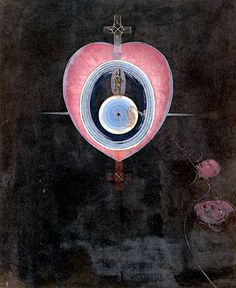 The Dove, No. 09, Group IX/UW, No. 33 Hilma af Klint - 1915 Private collection Painting - oil on canvas Height: 154 cm (60.63 in.), Width: 128 cm (50.39 in.)