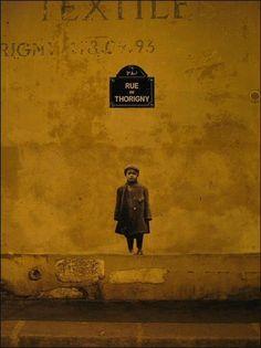 La rue de Thorigny, par Leo & Pipo (Paris 3ème).