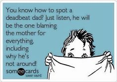 Another word for deadbeat dad