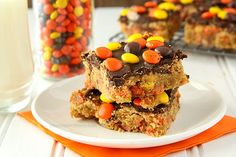 reeses pieces  #chocolate -  food porn -  ideas  #creations -  #creative