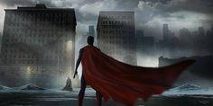 """Stunning """"Batman v Superman: Dawn of Justice"""" Concept Art by Victor Martinez « Film Sketchr Batman Vs Superman, Mundo Superman, Superman Dawn Of Justice, Superman Stuff, Héros Dc Comics, Conceptual Art, Dark Horse, Custom Posters, Gotham"""