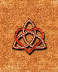Valentines Heart Celtic Knot - Free eCard
