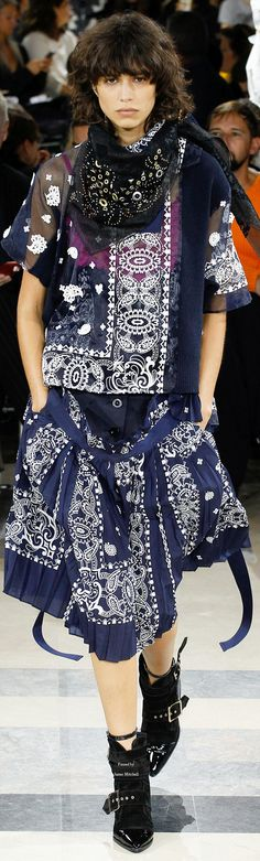 Sacai Collection Spring 2016 Ready-to-Wear