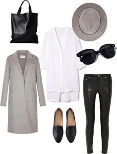 Серый, Белый, Черный: 8 ультра-модных сочетаний в стиле минимализм
