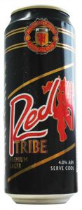 Crest Brewing Co. - Red Tribe - Manchester United football club champions lager 4,0% tölkki