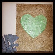 Stitch Neutral: My heart is at the sea...glass