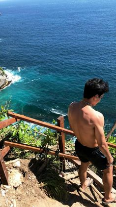 Good view with lovely boy