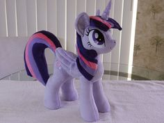 Alicorn Twilight Sparkle Plush by EquestriaPlush on deviantART