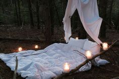 One night This looks like an easy set up @Debbie Arruda Ringle